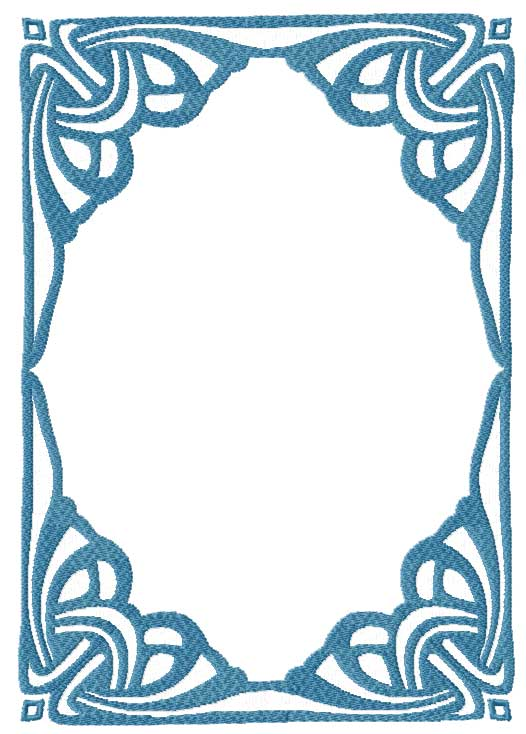 FREE MACHINE EMBROIDERY DESIGN BORDERS   ORIGAMI & EMBROIDERY