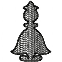 Chess Machine Embroidery design