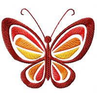 Free Butterfly Machine Embroidery Designs