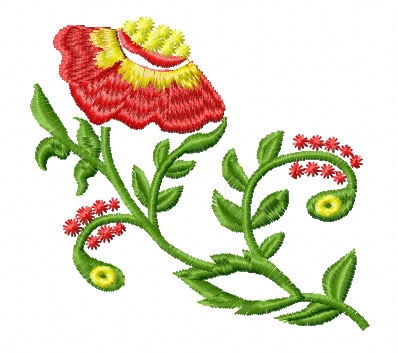 Flower Embroidery Designs - Kids, Fonts items in Free Machine
