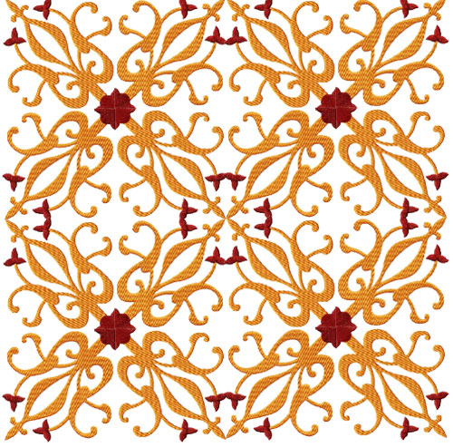 4-Hobby com - Machine Embroidery Designs :: Tiles :: Tiles - 9