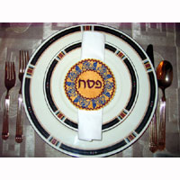 Passover Napkin Ring