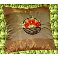 Classic Pillows with Flowers Backets