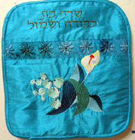 Tallit Bag with Flowers