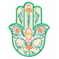 Hamsa Applique Machine Embroidery Designs set