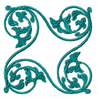 Elegant Ornaments 9 Machine Embroidery Designs Set