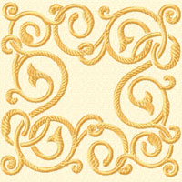 Elegant Ornaments 12 Machine Embroidery Designs Set
