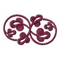 Elegant Ornaments 8 Machine Embroidery Designs Set