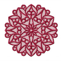 Large Lacy Snowflakes 12 Machine Embroidery Designs