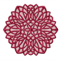 Lacy Snowflakes  Machine Embroidery Designs