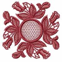Roses Motifs Quilt Blocks Machine Embroidery Designs set 4x4