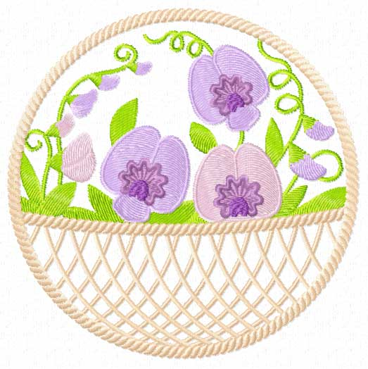 Outstanding Sweet Pea Embroidery Design 523 x 524 · 38 kB · jpeg