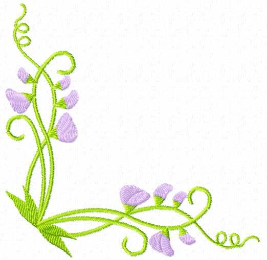 4 Hobby Com Machine Embroidery Designs Flowers